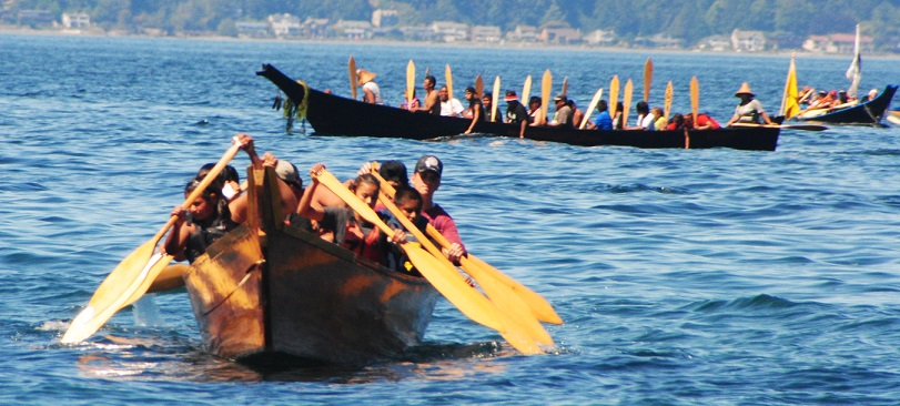 Northwest Tribal Canoe Journey