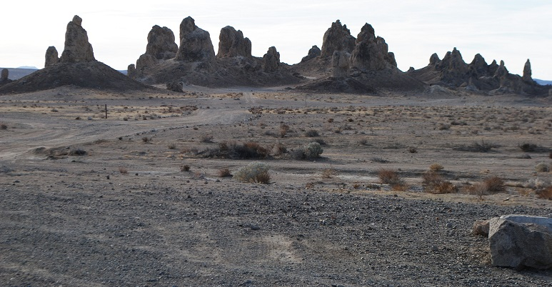 Otherworldly Trona Pinnacles