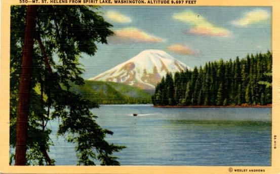 MtSt Helens card